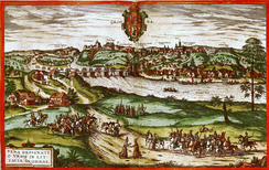 A 16th-century view of Grodno