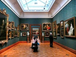 Inside the National Portrait Gallery, 2008