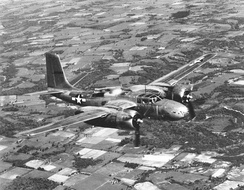 A-26 Invader in flight