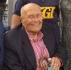 Dingell in October 2016 campaigning for Hillary Clinton's presidential campaign
