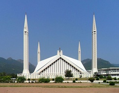 "Faisal Mosque in Islamabad is named after a Saudi king. The kingdom is a strong ally of Pakistan. WikiLeaks claimed that Saudis are ""long accustomed to having a significant role in Pakistan's affairs"".[252]"