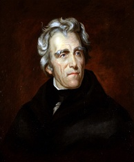 Andrew Jackson, seventh President of the United States, was the first of Scots-Irish extraction.