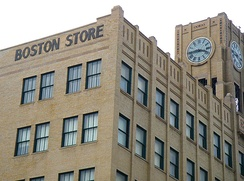 The iconic Boston Store in downtown Erie