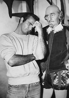 "Burt Reynolds and John Williams in ""The Bard"", a 1963 episode ofThe Twilight Zone"