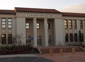 The historic C.K. McClatchy High School.