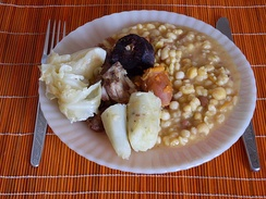 Cachupa, typical Cape Verdean dish