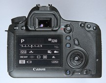 Back view of the 6D