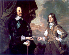 James with his father, Charles I, by Sir Peter Lely, 1647