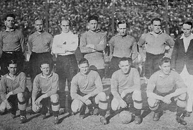 The Chelsea F.C. team that toured on South America, photographed in Argentina in 1929 [43]