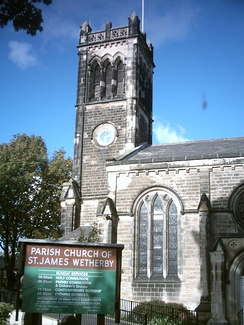 St James' Church in Wetherby, Wetherby's largest church