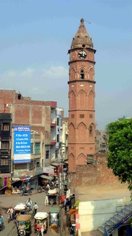 Estcourt Clock Tower, commonly known as Ghanta Ghar,  was built in 1906.