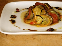 The film's take on the traditional ratatouille dish was designed by gourmet chef Thomas Keller and later came to be known as confit byaldi.