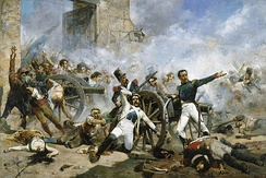Second of May 1808: the defenders of Monteleón make their last stand
