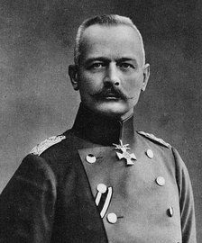 Gen. Erich von Falkenhayn, the Chief of the General Staff and Hindenburg's nemesis.