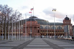Festhalle Frankfurt, venue in 2001 and 2012.