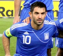 Greece's iconic midfielder and former captain Giorgos Karagounis is the most capped player in the history of the national team with 139 caps.