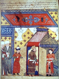 Ghazan Khan, 7th Ilkhanate ruler of the Mongol Empire, converted to Islam