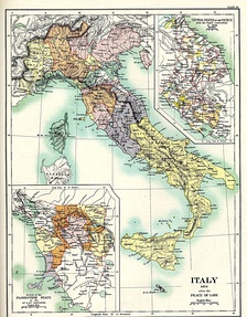 Italy after the Peace of Lodi in 1454.