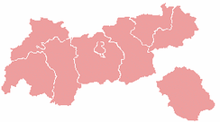 Districts of Tyrol