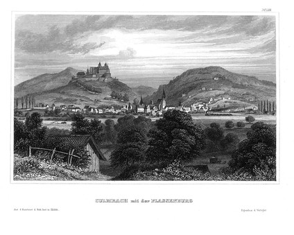 Historic view of Kulmbach