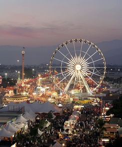 L.A. County Fair at dusk, 2008