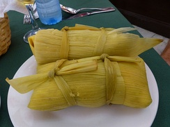 Cuban-style tamales