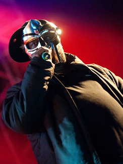 MF Doom, one of the pioneering artists for the underground hip hop scene, sooner creating a market for independent labels.