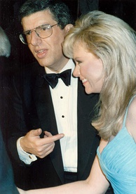 Marvin Hamlisch (shown with his wife Terre Blair) became the sixth person to win all four awards in 1995.