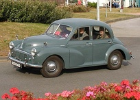 The Morris Minor was one of the most popular cars from Morris.