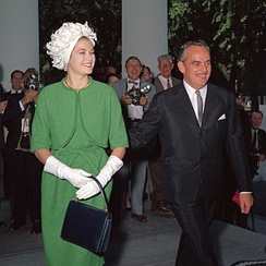 The marriage of Grace Kelly to Prince Rainier III brought attention to the principality.