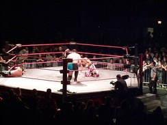 For much of its history, Impact Wrestling used a hexagonal ring.