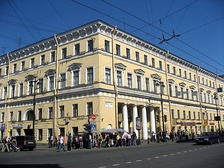 The building at No. 18 Nevsky Avenue (2007)