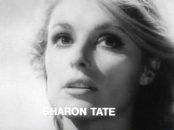 Sharon Tate in the trailer for the film Eye of the Devil.