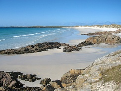 Tiree, one of the sunniest locations in Scotland