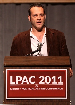 Vaughn at the Liberty Political Action Conference in Reno, Nevada, September 2011