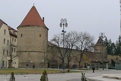 The defensive walls and towers around Kaptol were built between 1469 and 1473