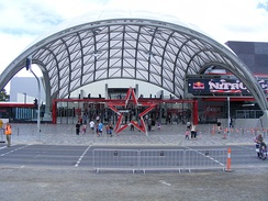 The Adelaide Entertainment Centre, the largest indoor sports and entertainment venue in Adelaide