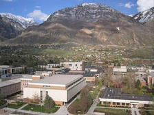 Brigham Young University in Provo, Utah