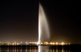 Фонтан в Бахрейне