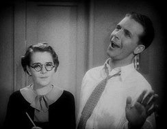 Ruby Keeler and Powell in Footlight Parade (1933)