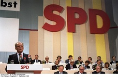Parties can arise from existing cleavages in society, like the Social Democratic Party of Germany which was formed to represent German workers.