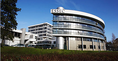 ESSEC in France and Singapore was the first business school being AACSB accredited outside North America in 1997