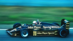Elio de Angelis retired early due to an electrical failure.
