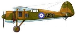 Greek PZL P.24 F/G 1940, with the Δ120 marking of Marinos Mitralexis