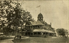 The old Belle Isle Casino, designed by Mason & Rice and built in 1884. It was demolished and replaced in 1908.