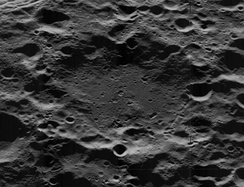 The H. G. Wells crater, located on the far side of the Moon, was named after the author of The First Men in the Moon (1901) in 1970