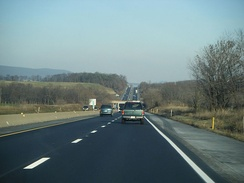 I‑78 and US 22 in Berks County, Pennsylvania