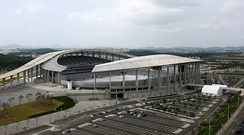 Incheon Asiad Main Stadium, main stadium of 2014 Asian Games