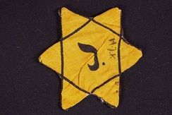 The Belgian version of the Yellow Badge, compulsory from 1942
