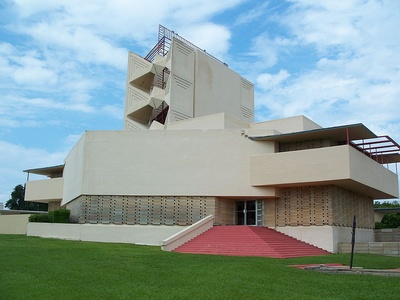 The Pfeiffer Chapel at Florida Southern College by Frank Lloyd Wright (1941–1958)
